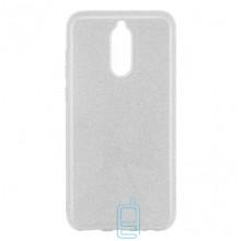Чехол силиконовый Shine Huawei Mate 10 Lite серебристый