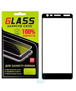 Защитное стекло Full Screen Nokia 3.1 black Glass