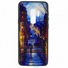 Чехол накладка Glass Case New Samsung S9 Plus G965 лестица