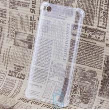 Чехол силиконовый Xiaomi Mi5s усиленный прозрачный