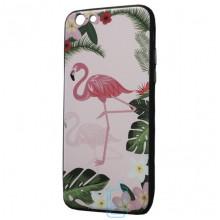 Чехол Creative TPU+PC Apple iPhone 6 Plus, 6S Plus Flamingo