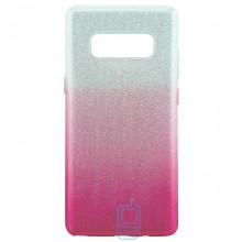Чехол силиконовый Shine Samsung Note 8 N950 градиент розовый