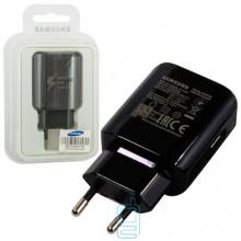 Сетевое зарядное устройство Samsung Fast Charge EP-TA300 1USB 2A блистер black