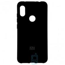 Чехол Silicone Case Full Xiaomi Redmi Note 6 Pro черный