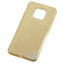 Чехол силиконовый Shine Huawei Mate 20 Pro золотистый
