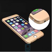 Защитное стекло 4D Apple iPhone 6 gold Zool