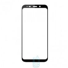 Защитное стекло Full Screen Samsung J4 Plus 2018 J415, J6 Plus 2018 J610 black тех.пакет