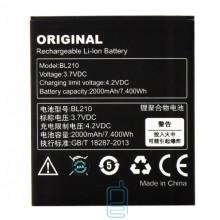 Аккумулятор Lenovo BL210 2000 mAh A606, S650, A766, S820 AAA класс тех.пакет