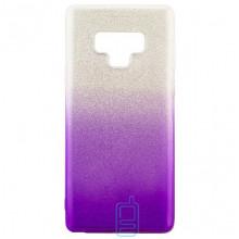 Чехол силиконовый Shine Samsung Note 9 N960 градиент фиолетовый