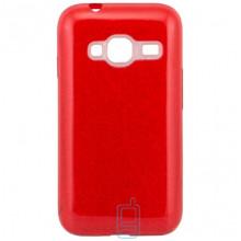 Чехол силиконовый Shine Samsung J1 Mini J105 красный