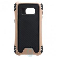 Чехол силиконовый WUW X1 Samsung S7 Edge G935 золотистый