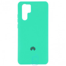 Чехол Silicone Case Full Huawei P30 Pro бирюзовый