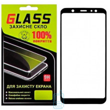 Защитное стекло Full Screen Samsung A6 Plus 2018 A605 black Glass