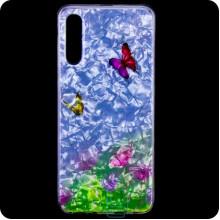 Cиликон Garden Samsung A50 2019 A505 бабочки