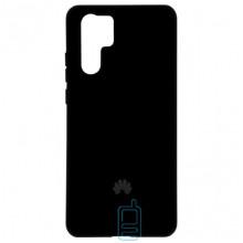 Чехол Silicone Case Full Huawei P30 Pro черный