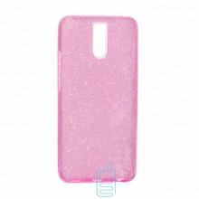 Чехол силиконовый Shine Meizu M6 Note розовый