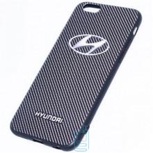 Чехол силиконовый Apple iPhone 6 logo HYUNDAI