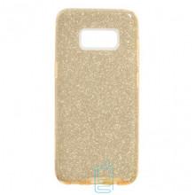Чехол силиконовый Shine Samsung S8 Plus G955 золотистый