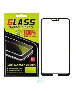 Защитное стекло Full Glue Nokia 7.1 black Glass