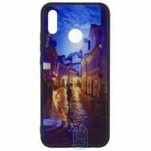 Чехол накладка Glass Case New Huawei P20 Lite, Nova 3e переулок