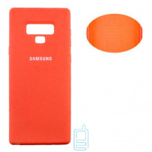 Чехол Silicone Cover Full Samsung Note 9 N960 оранжевый