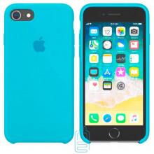 Чехол Silicone Case Apple iPhone 5, 5S голубой 16