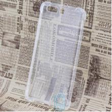 Чехол силиконовый Huawei P10 Plus усиленный прозрачный
