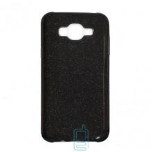 Чехол силиконовый Shine Samsung J5 2015 J500 черный