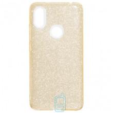 Чехол силиконовый Shine Xiaomi Redmi S2, Y2 золотистый
