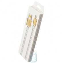 USB кабель iPhone 5S линейка 1m белый