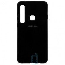 Чехол Silicone Case Full Samsung A9 2018 A920 черный