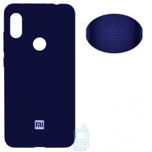 Чехол Silicone Cover Full Xiaomi Redmi Note 6, Note 6 Pro синий