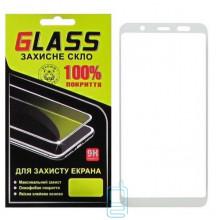 Защитное стекло Full Glue Samsung A6 Plus 2018 A605 white Glass