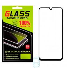 Защитное стекло Full Glue Samsung A20 2019 A205 black Glass
