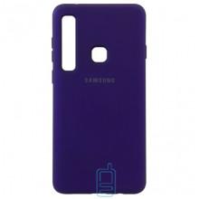 Чехол Silicone Case Full Samsung A9 2018 A920 фиолетовый