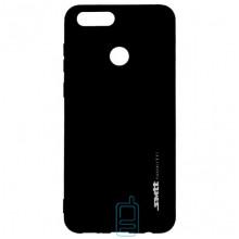 Чехол силиконовый SMTT Huawei Honor 7X черный