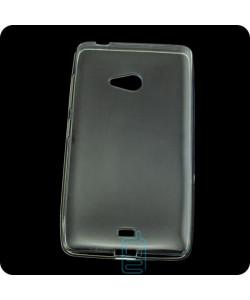 Чехол силиконовый Premium Nokia Lumia 540 прозрачный