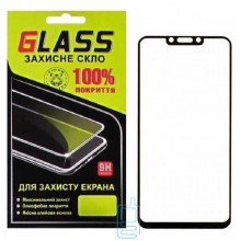 Защитное стекло Full Glue Huawei Nova 3, Nova 3i, P Smart Plus black Glass