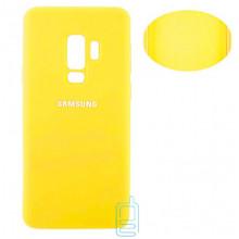 Чехол Silicone Cover Full Samsung S9 Plus G965 желтый