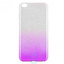 Чехол силиконовый Shine Xiaomi Redmi GO градиент фиолетовый