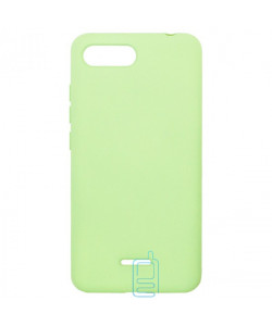 Чехол Silicone Cover Full Xiaomi Redmi 6A салатовый