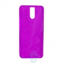 Чехол силиконовый Shine Meizu M6 Note фиолетовый