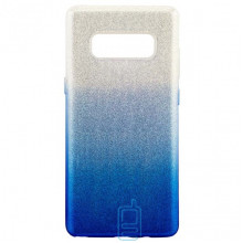Чехол силиконовый Shine Samsung Note 8 N950 градиент синий