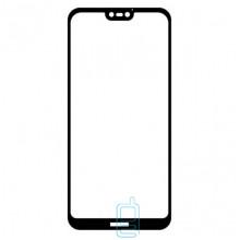 Защитное стекло Full Glue Huawei P20 black тех.пакет