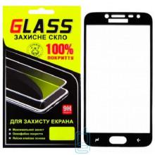 Защитное стекло Full Screen Samsung J2 2018 J250, J2 Pro 2018 black Glass