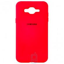 Чехол Silicone Case Full Samsung J2 Prime G532, G530 красный