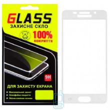 Защитное стекло Full Screen Samsung A3 2016 A310 white Glass