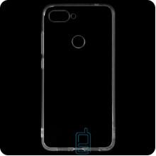 Чехол силиконовый SMTT Xiaomi Mi 8 Lite прозрачный
