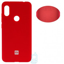 Чехол Silicone Cover Full Xiaomi Redmi Note 6, Note 6 Pro красный