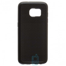 Чехол-накладка GINZZU Carbon X1 Samsung S7 Edge G935 черный